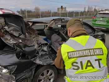 Menor de 12 años fallece tras accidente vehicular en Rengo. - El Rancagüino