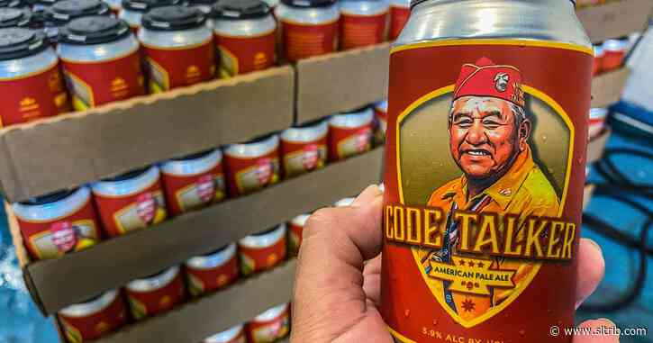 Emotions run high over new Navajo Code Talkers beer can