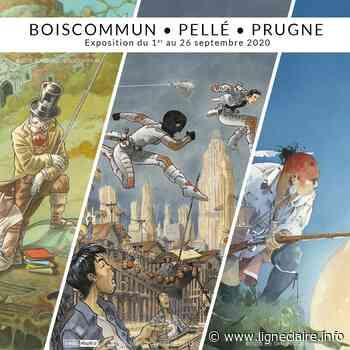 Boiscommun, Pellé et Prugne s'exposent chez Maghen à Paris - Ligne Claire
