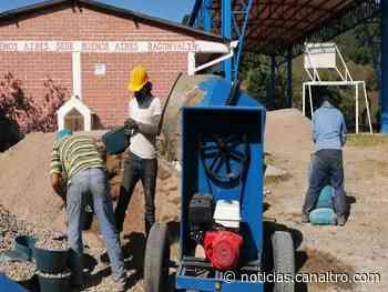 Instituciones en Ragonvalia realizan arreglos en sus sedes - Canal TRO