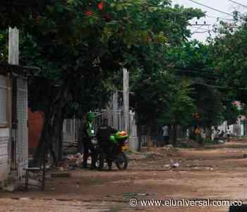 Presidente de JAC en Olaya denuncia hurto de su moto - El Universal - Colombia