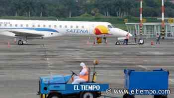 En el primer día de vuelos en el Olaya Herrera hubo 703 pasajeros - El Tiempo
