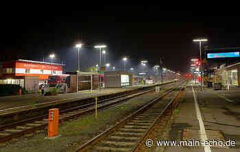 Nächtlicher Baulärm am Bahnhof Miltenberg ab 9. September - Main-Echo
