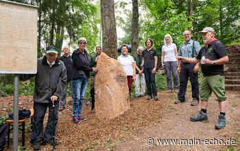 Odenwaldklub Miltenberg weiht Gedenkstein an Haagsaussicht ein - Main-Echo