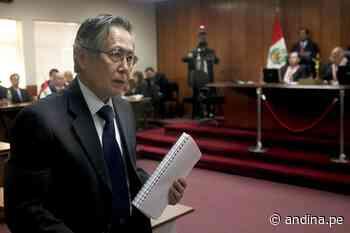 Alberto Fujimori: queda el voto decisión del PJ si caso Pativilca pasa a juicio oral - Agencia Andina