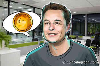 Elon Musk Sees 'Dogecoin Standard' Future — DOGE Price Rises 14% - Cointelegraph