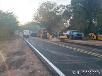Obra de manutenção na Rodovia Irineu Penteado interdita acesso a Charqueada nesta quarta - G1
