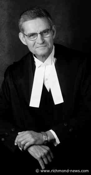 Former British Columbia chief justice Lance Finch dies at 82 - Richmond News