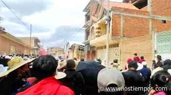 Tras apedrear casa de alcaldesa, declaran cuarto intermedio en conflicto en Punata - Los Tiempos