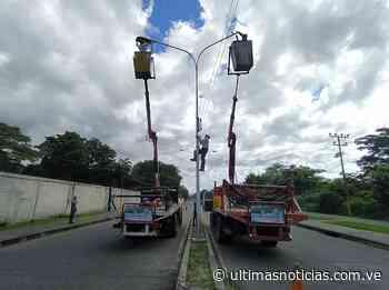 Iluminarán sectores populares de Araure con 3.000 lámparas - Últimas Noticias