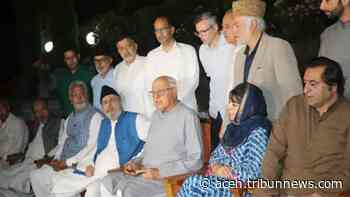 Enam Partai Politik Jammu dan Kashmir Berjanji Memperjuangkan Kembali Otonomi Khusus Kashmir - Serambinews.com