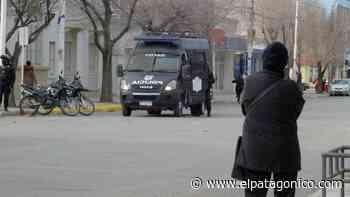 Fuerte control en el corralito peatonal de Río Gallegos - El Patagónico