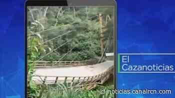 El Cazanoticias: denuncian que puente en Maripí, Boyacá, está destruido - Noticias RCN