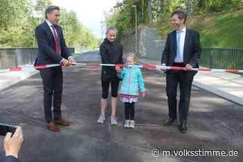 Verkehr Neue Ledebur-Brücke in Ilsenburg freigegeben - Volksstimme