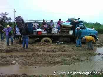 AUXILIO PRESIDENTE / Carretera de Barrialito en Zaraza totalmente destrozada +VIDEO - El Tubazo Digital