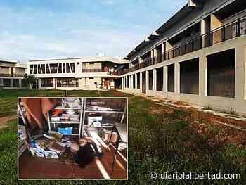 Hombres armados se robaron 60 portátiles de un colegio en Soplaviento - Diario La Libertad