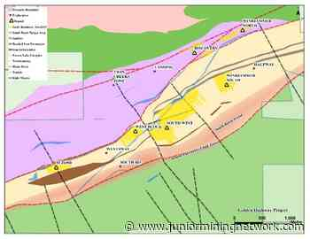 Moneta Porcupine Mines Confirms Extensions of New South Basin Target with 2.20 m @ 15.76 g/t Gold Including 0.60 m @ 39.60 g/t Gold - Junior Mining Network