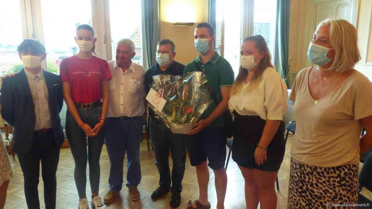 Vitry-en-Artois : près de mille euros remis à la famille du petit Louis - La Voix du Nord