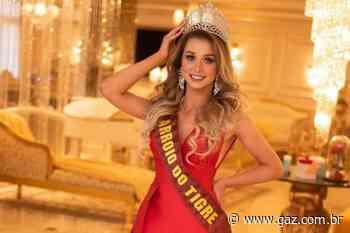 Taís Graeff representa Arroio do Tigre na final do Miss Rio Grande do Sul Latina - GAZ