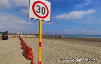 Manta habilitó este 1 de septiembre las playas de Tarqui, El Murciélago y Santa Marianita con control y medidas de bioseguridad - El Comercio (Ecuador)