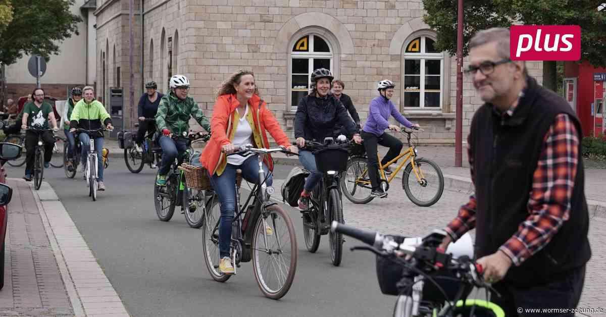 Radfahrer in VG Monsheim nennen ihre Wünsche - Wormser Zeitung