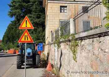 A Induno Olona sono partiti i lavori per mettere in sicurezza il muro di Villa Castiglioni - Varesenews