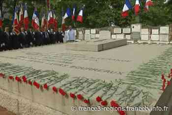 St-Genis-Laval : commémoration au Fort de Côte de Lorette - francetvinfo.fr