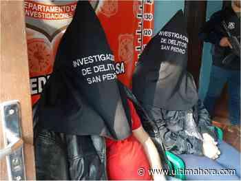 Detienen a pareja buscada por supuesto narcotráfico y sicariato - ÚltimaHora.com