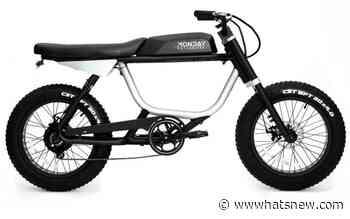 Bicicleta eléctrica Anza, modelo económico y de gran utilidad para recorrer la ciudad - WWWhat's new