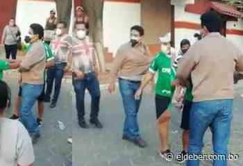 Lazarte fue sacado a empujones del Comité Cívico de Camiri - EL DEBER