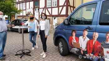 Viel Lob für HNA-Serien: HNA-Mobil machte Halt in Malsfeld - hna.de