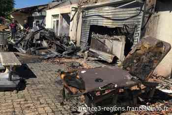 Hérault : un violent incendie détruit six commerces cette nuit à Pignan - France 3 Régions