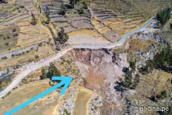 Ingemmet recomienda nuevo trazo de carretera Chivay-Cabanaconde - Agencia Andina
