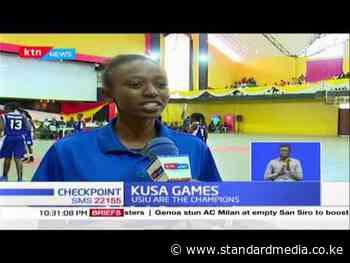 KUSA Games: USIU emerge as champions, games held at Nazarene University : KTN News - The Standard