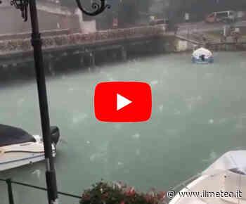 Meteo CRONACA VIDEO: VENETO, Bombardamento di GRANDINE a Peschiera del Garda. Le IMMAGINI - iL Meteo