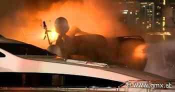 Luxusyacht von Marc Anthony geht in Flammen auf - GMX.AT