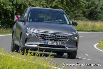 Brennstoffzellenauto Hyundai Nexo im Test: Wasserstoff-Dampfer - Firmenauto