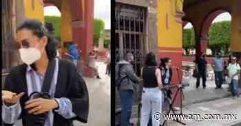 VIDEO. Flor Amargo se pone a cantar en San Miguel de Allende y funcionario la corre - Periódico AM