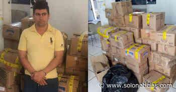 Capturado por contrabando de mercadería en Ciudad Arce, La Libertad - Solo Noticias