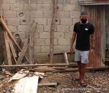 Familia en Fredonia necesita ayuda para reconstruir su vivienda - El Universal - Colombia