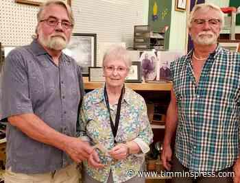 Historical society receives donation - Timmins Press