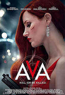 Ava Movie Review: Jessica Chastain powers this moderately thrilling assassin saga - Times of India