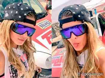 Alejandra Baigorria: novia de Guty Carrera en Rally Quilmaná (FOTOS) - elpopular.pe
