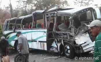 32 lesionados dejó vuelco de autobús en la vía Higuerote-Birongo - El Pitazo