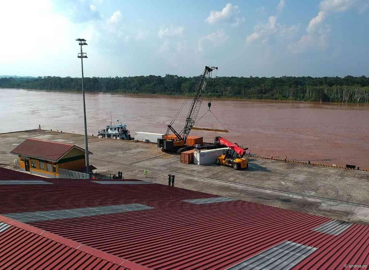 Reactivación: puerto de Yurimaguas incrementa en 290 % su movimiento de carga - Agencia Andina