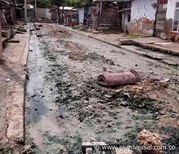 Inundaciones y malos olores en Olaya Herrera por colector de alcantarillado - El Universal - Colombia