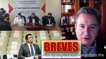 #Breves Hoy designarían concejos municipales + Curzio habla sobre seguridad + Mixquiahuala en la mira - Independiente de Hidalgo