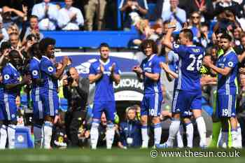 Chelsea legend John Terry reveals bizarre guard of honour which caused uproar 'was one of favourite moments o - The Sun