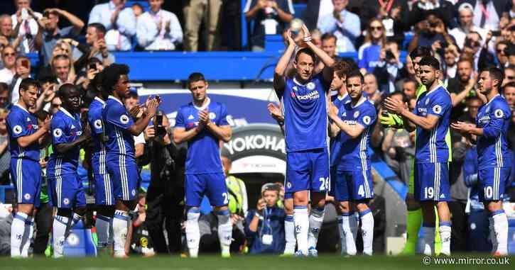 Chelsea legend John Terry explains truth behind infamous Stamford Bridge guard of honour - Mirror Online