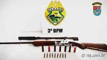 PM cumpre mandados e apreende arma em Mangueirinha e Cel. Domingos Soares - RBJ